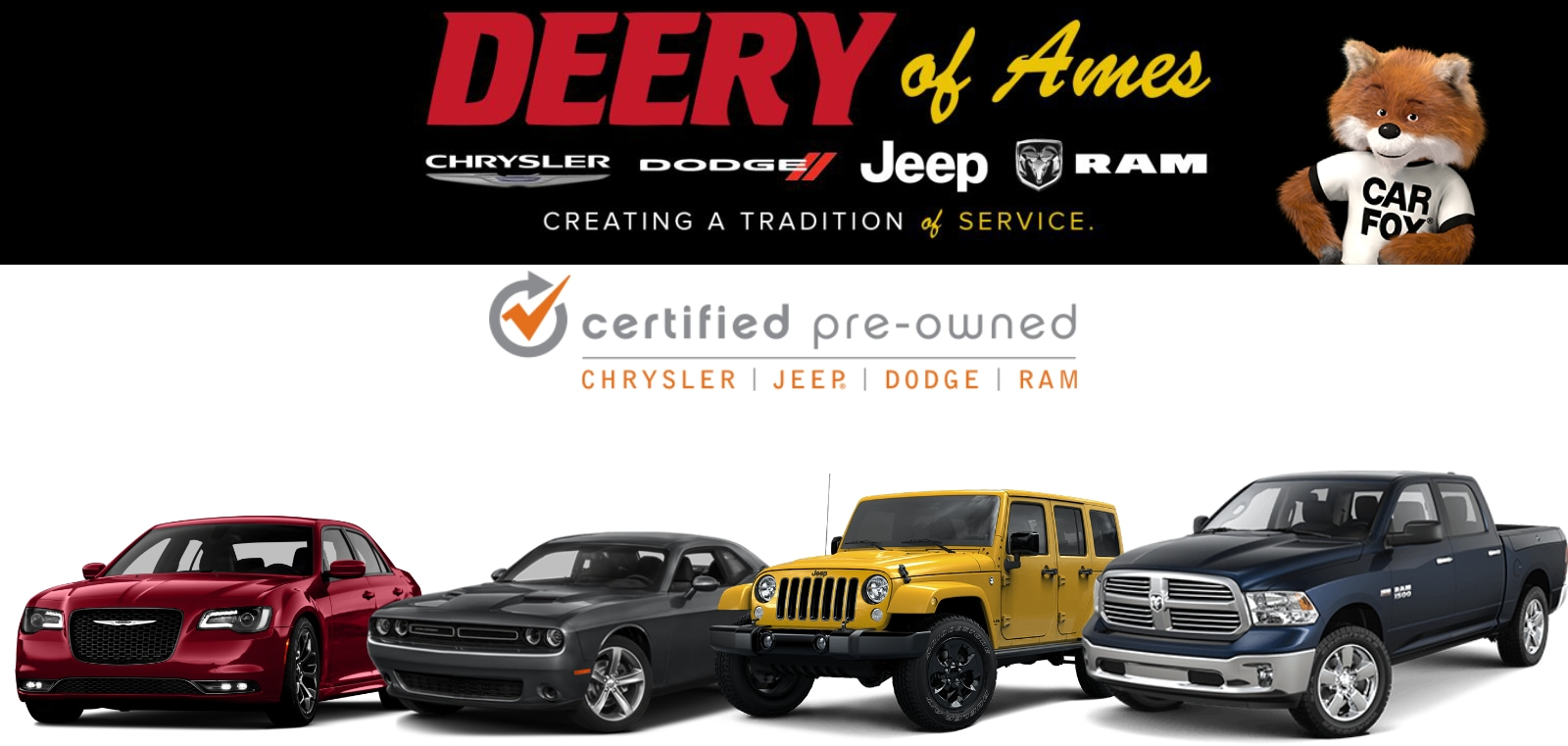 deery of ames chrysler dodge jeep ram iowa why buy certified. Black Bedroom Furniture Sets. Home Design Ideas