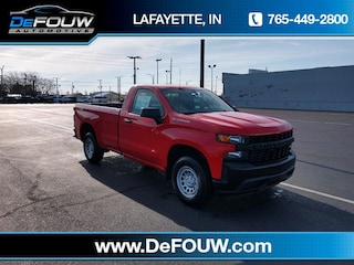 New 2019 Chevrolet Silverado 1500 Work Truck Truck Regular Cab for sale in Lafayette, IN