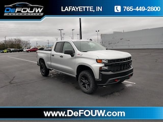 New 2019 Chevrolet Silverado 1500 Silverado Custom Trail Boss Truck Double Cab for sale in Lafayette, IN