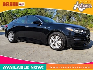 Used 2016 Kia Optima LX Sedan 5XXGT4L30GG113264 Deland, FL