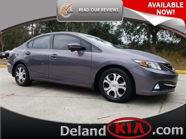 Used 2015 Honda Civic Hybrid Sedan in Deland, FL