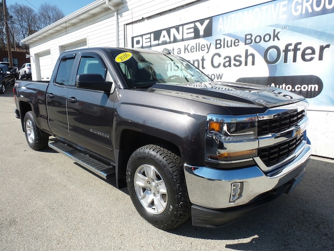 Certified Used 2016 Chevrolet Silverado 1500 LT Truck Double Cab in Indiana, PA