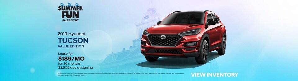 2019 Hyundai Tucson Value Edition Special