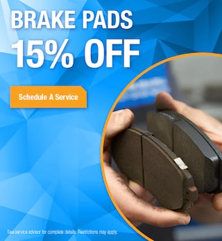 Brake Pads Special