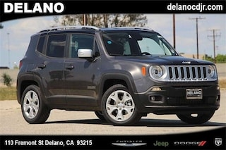 New 2018 Jeep Renegade LIMITED 4X2 Sport Utility in Delano CA