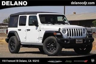 New 2018 Jeep Wrangler UNLIMITED SPORT 4X4 Sport Utility in Delano CA