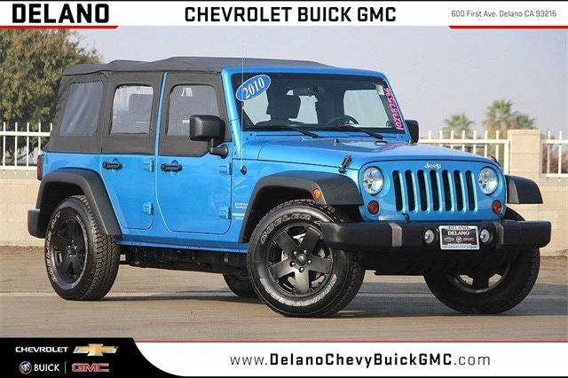 2010 Jeep Wrangler Unlimited Sport SUV