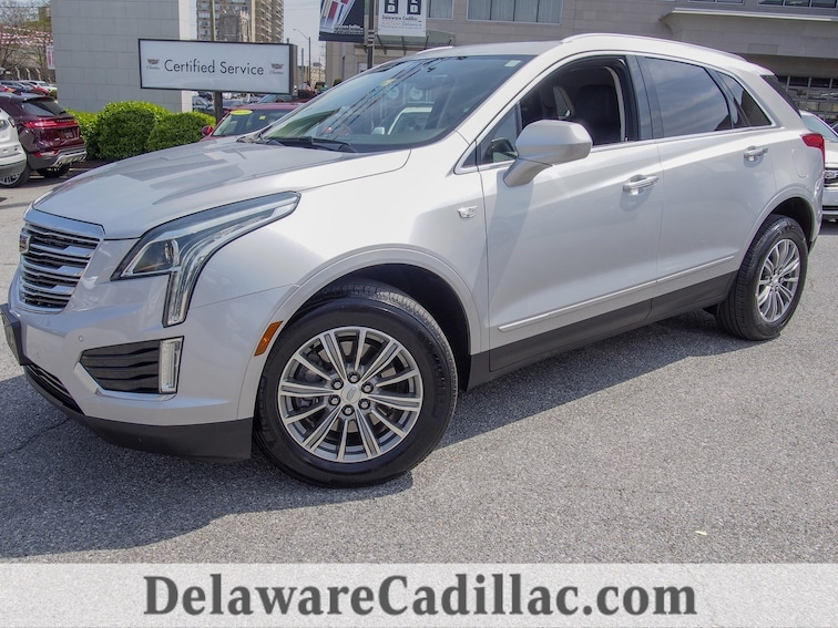 Certified 2017 CADILLAC XT5 Luxury SUV in Wilmington, DE