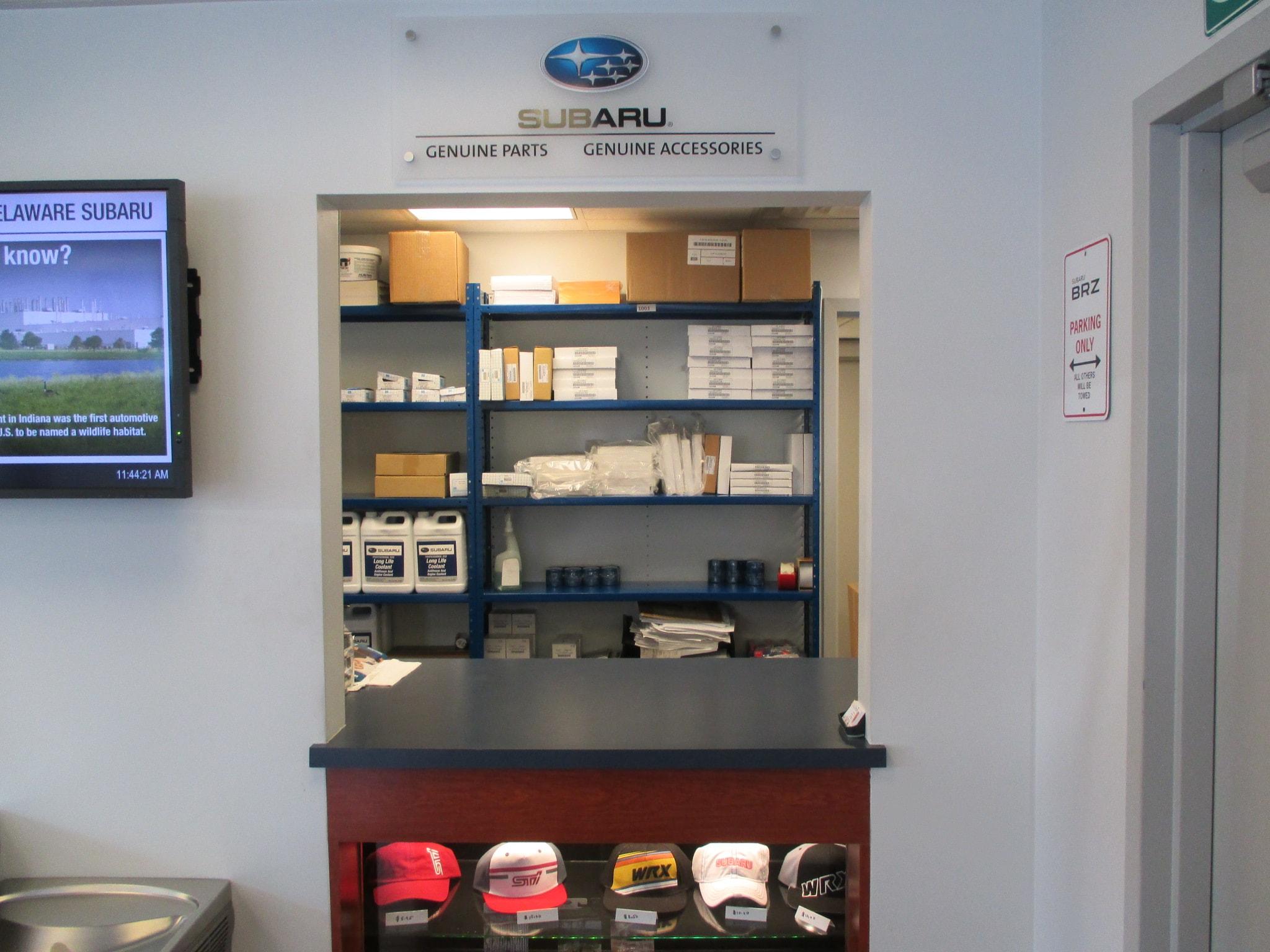 Subaru Parts & Accessories Wilmington DE | Delaware Subaru