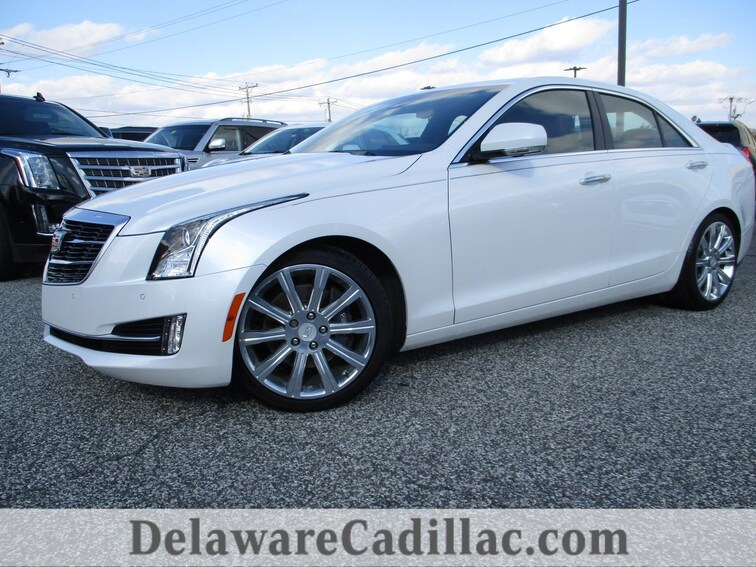 Used 2017 CADILLAC ATS 3.6L Premium Luxury Sedan in Wilmington, DE
