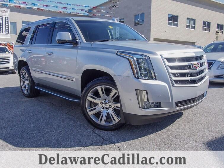 Certified 2017 CADILLAC Escalade Luxury SUV in Wilmington, DE