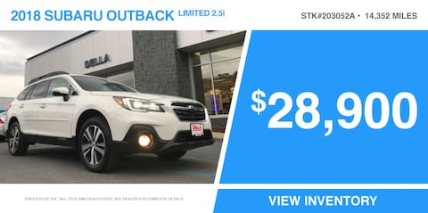 '18 Outback Limited