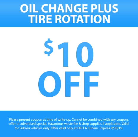 Oil Change Plus Tire Rotation