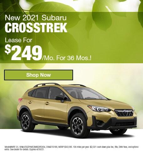 April | 2021 Crosstrek