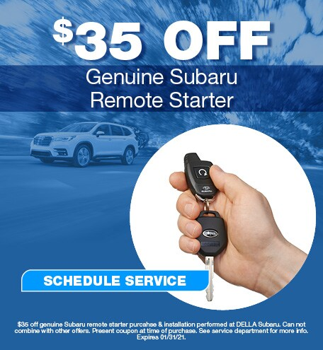 Genuine Subaru Remote Starter