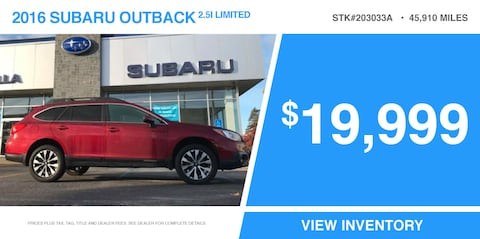 '16 Outback