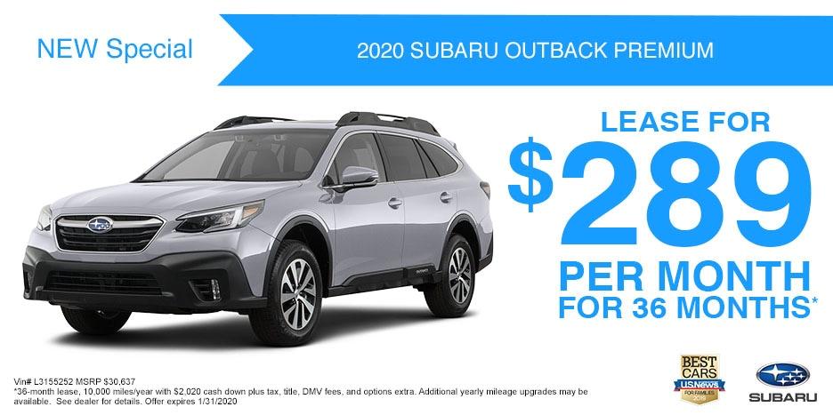 2020 Outback Premium - 203178