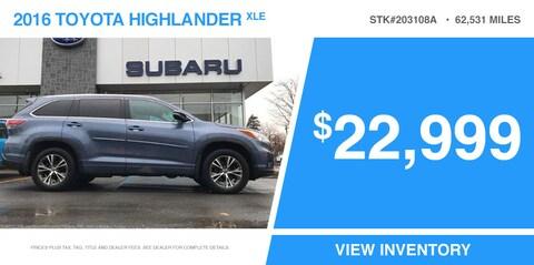2016 Highlander - 203108A