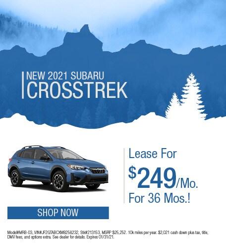 January | 2021 Crosstrek