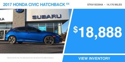 '17 Civic Hatchback