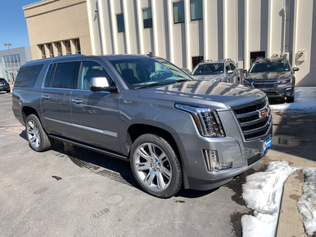 New 2019 CADILLAC Escalade ESV Premium Luxury SUV For Sale/Lease Fort Collins, CO