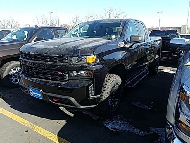New 2019 Chevrolet Silverado 1500 Silverado Custom Trail Boss Truck Double Cab For Sale/Lease Fort Collins, CO