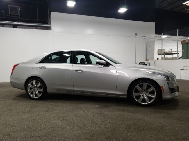 Used 2015 CADILLAC CTS 2.0L Turbo Performance Sedan In Fort Collins