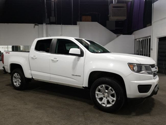 Used 2018 Chevrolet Colorado LT Truck Crew Cab In Fort Collins