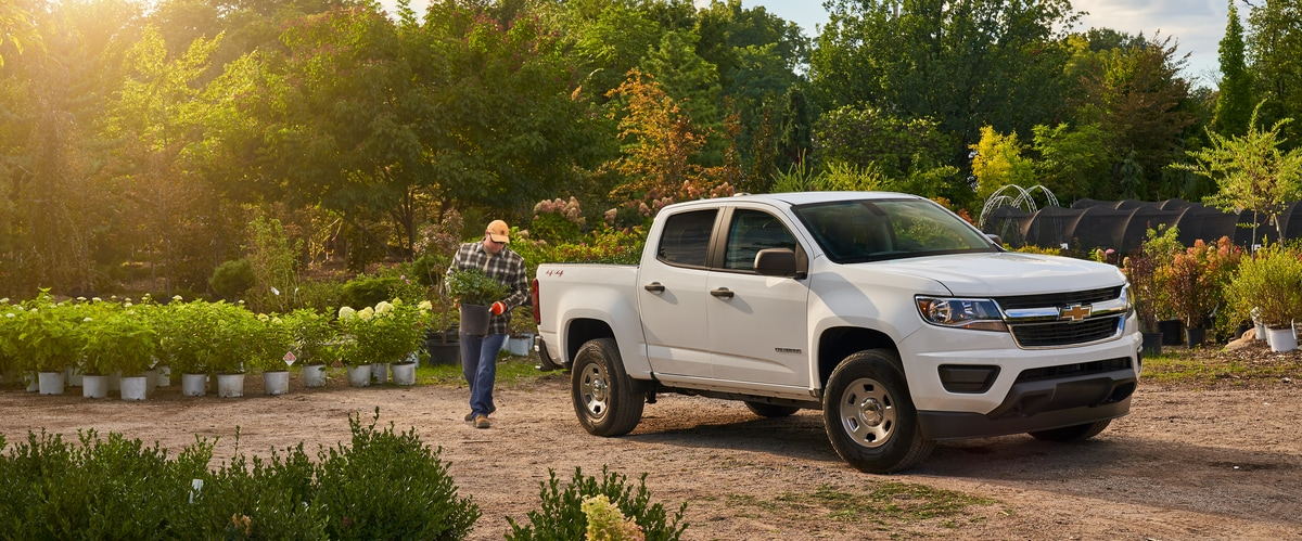 Chevrolet-Colorado Crew Cab