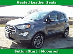 New 2018 Ford EcoSport Titanium Crossover for sale near Morris, IL