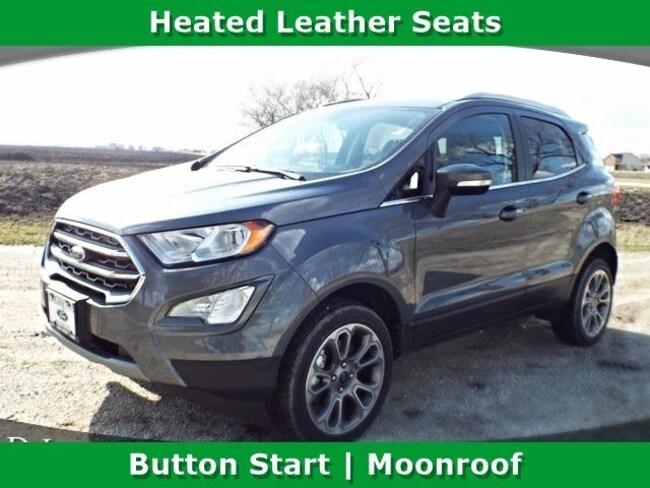 New 2018 Ford EcoSport Titanium Crossover for sale near Morris, IL