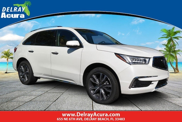 Mdx Cash Back >> New 2019 Acura Mdx For Sale Delray Beach Fl