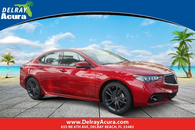 2020 Acura TLX V-6 with A-Spec Package Sedan