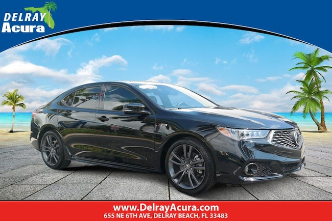 2019 Acura TLX w/A-Spec Pkg Red Leather 2.4L FWD w/A-Spec Pkg Red Leather
