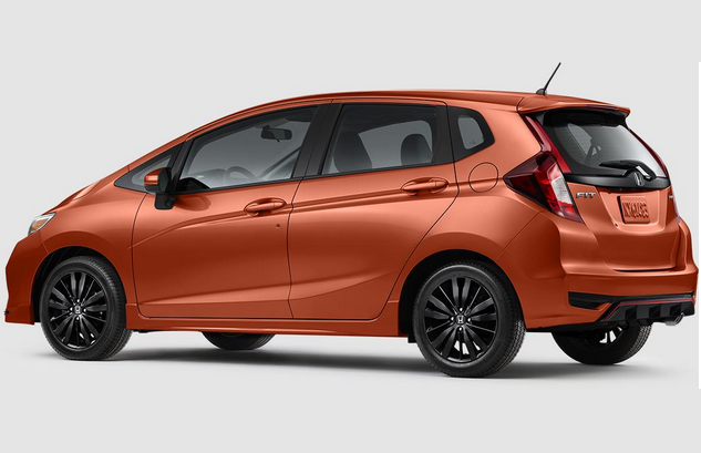 2018 Honda Fit Sport rear