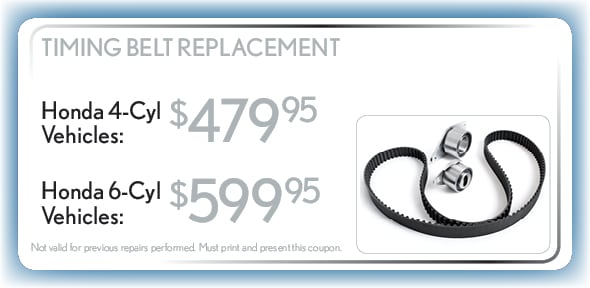 Timing Belt Replacement, Delray Beach, FL Automotive Service Special Special