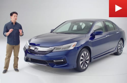 2017 Honda Accord Hybrid Video Walk-Around