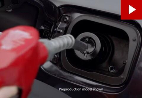 Honda capless gas tank - fuel filler