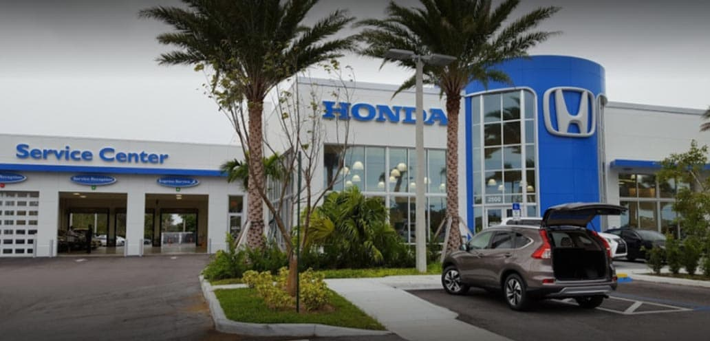 Delray Honda Awards