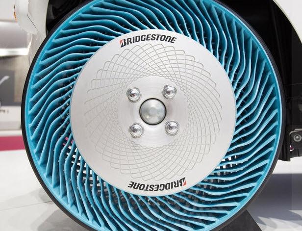 Bridgestone S Airless Tire Prototype Delray Honda