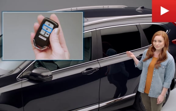 keyless features on honda cr-v