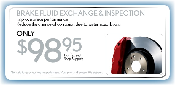 Brake Fluid Exchange & Inspection, Delray Beach, FL Automotive Service Special Special
