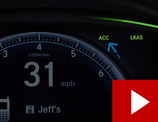 How To Use Your Hondas Adaptive Cruise Control Acc