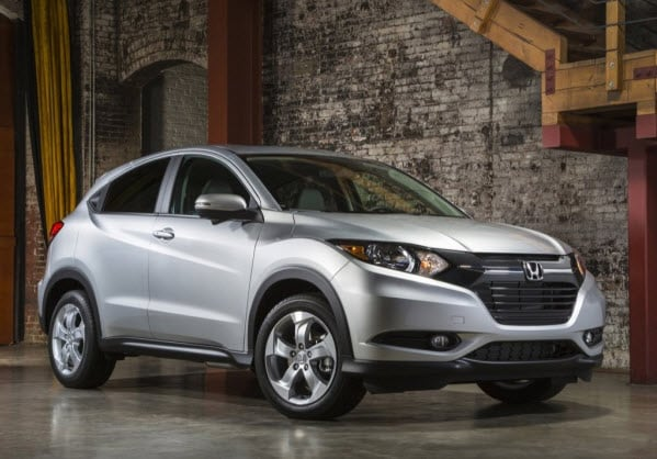 All-New 2016 Honda HR-V Aims to Top Compact SUV Class