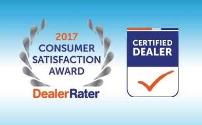 Delray Honda DealerRater Consumer Satisfaction Award