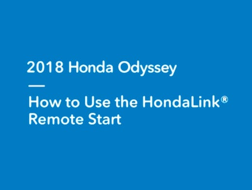 HondaLink Remote Start How-To