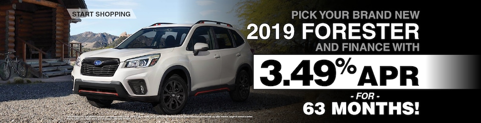 2019 Subaru Forester Featured Financing