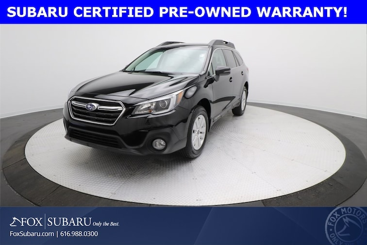certified  2018 Subaru Outback 2.5i SUV Grand Rapids MI