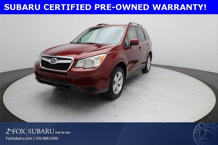 used 2016 Subaru Forester 2.5i Premium SUV Grand Rapids MI
