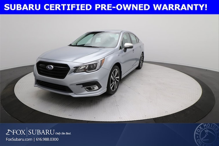 certified  2018 Subaru Legacy 2.5i Sedan Grand Rapids MI